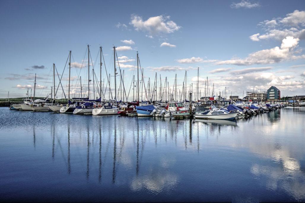 Amble Marina © Douglas Rutter